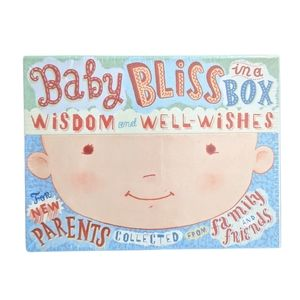 Baby bliss in a box - wisdom and well wishes NEW